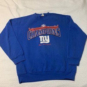 Retro New York Giants NFL Crewneck Sweatshirt